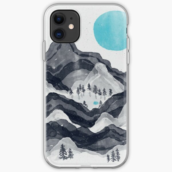 The Sun in Moon Lake... iPhone Soft Case
