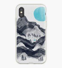 The Sun in Moon Lake... iPhone Case