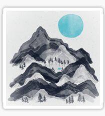 The Sun in Moon Lake... Sticker