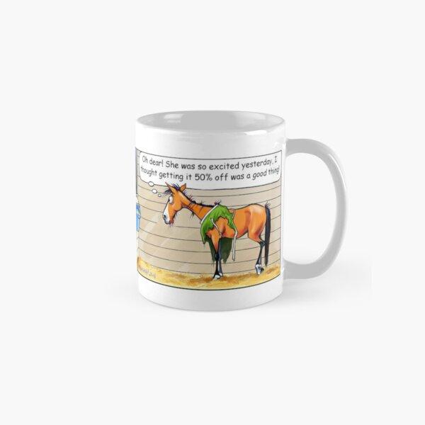 "Fergus the Horse: ""50% Off"" Comic Strip Classic Mug"