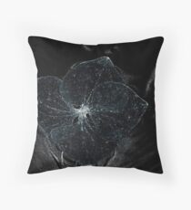 On the dark side... Throw Pillow