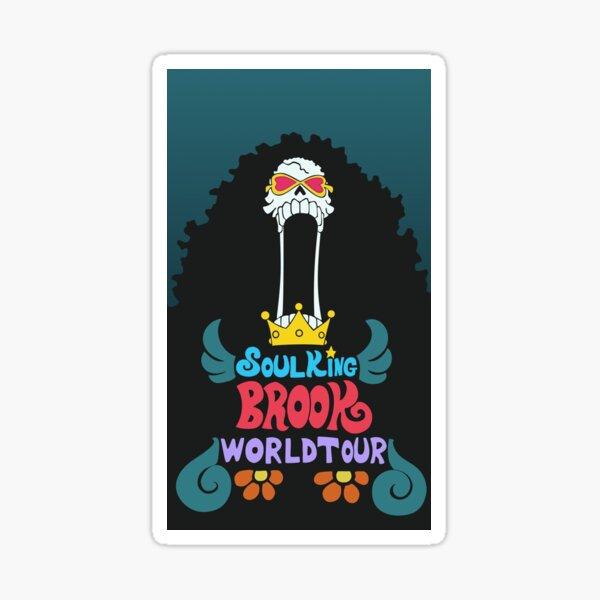 Soul King Brook World Tour Sticker