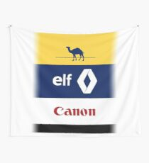 Williams Renault Elf Canon design Wall Tapestry