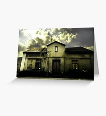 house with history Greeting Card