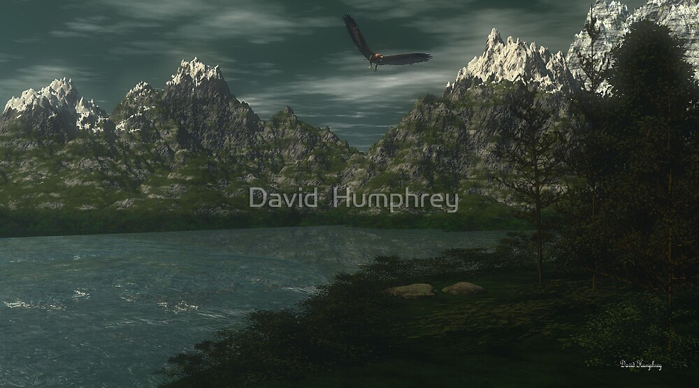 Peacefulness Within by David  Humphrey