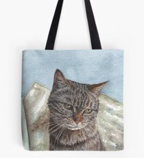 Toast the Tabby Cat Tote Bag