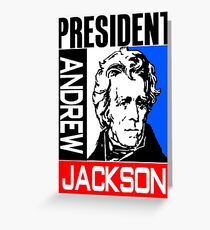 ANDREW JACKSON-3A Greeting Card