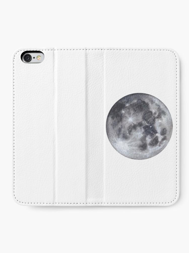 Alternative Ansicht von Vollmond iPhone Flip-Case