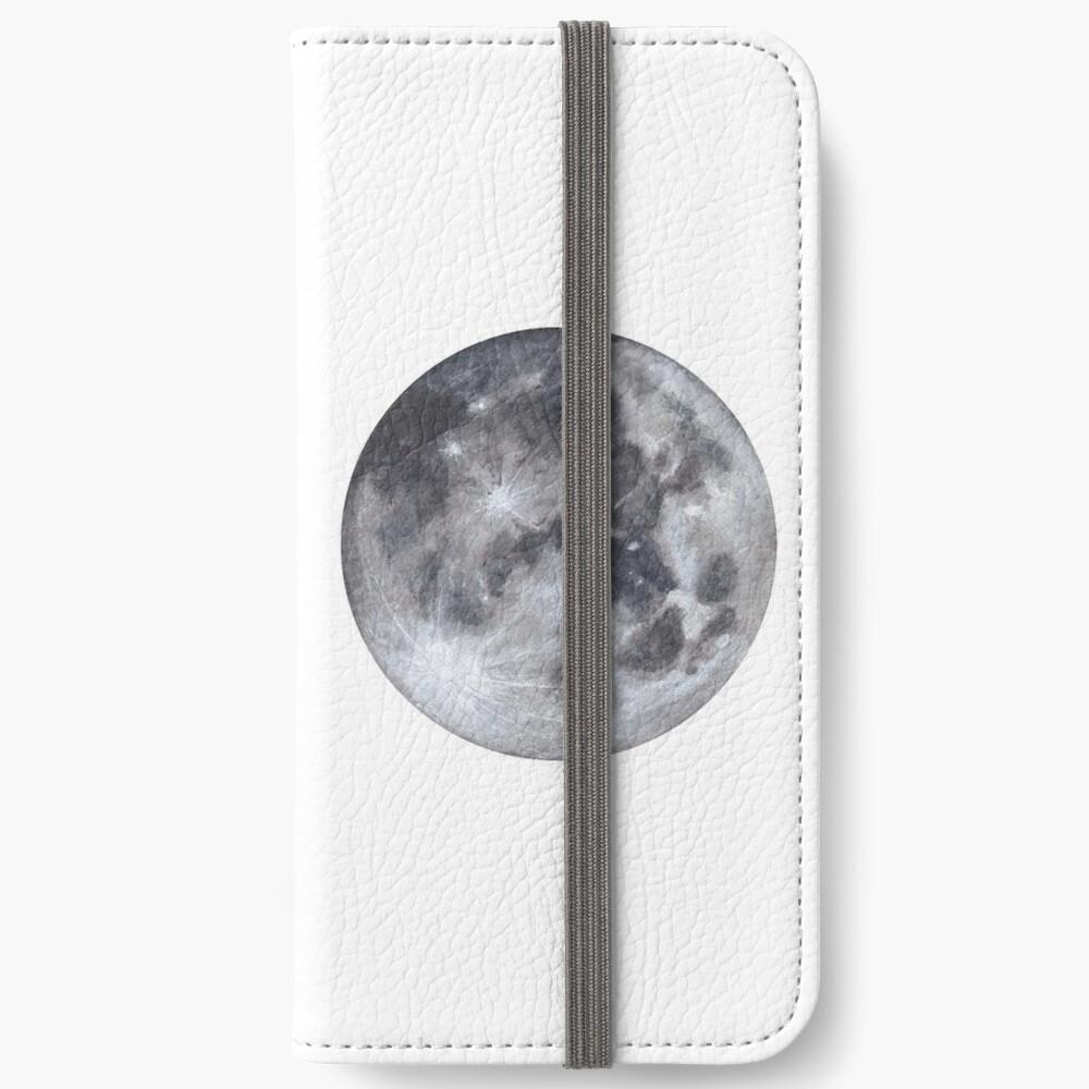Vollmond iPhone Flip-Case