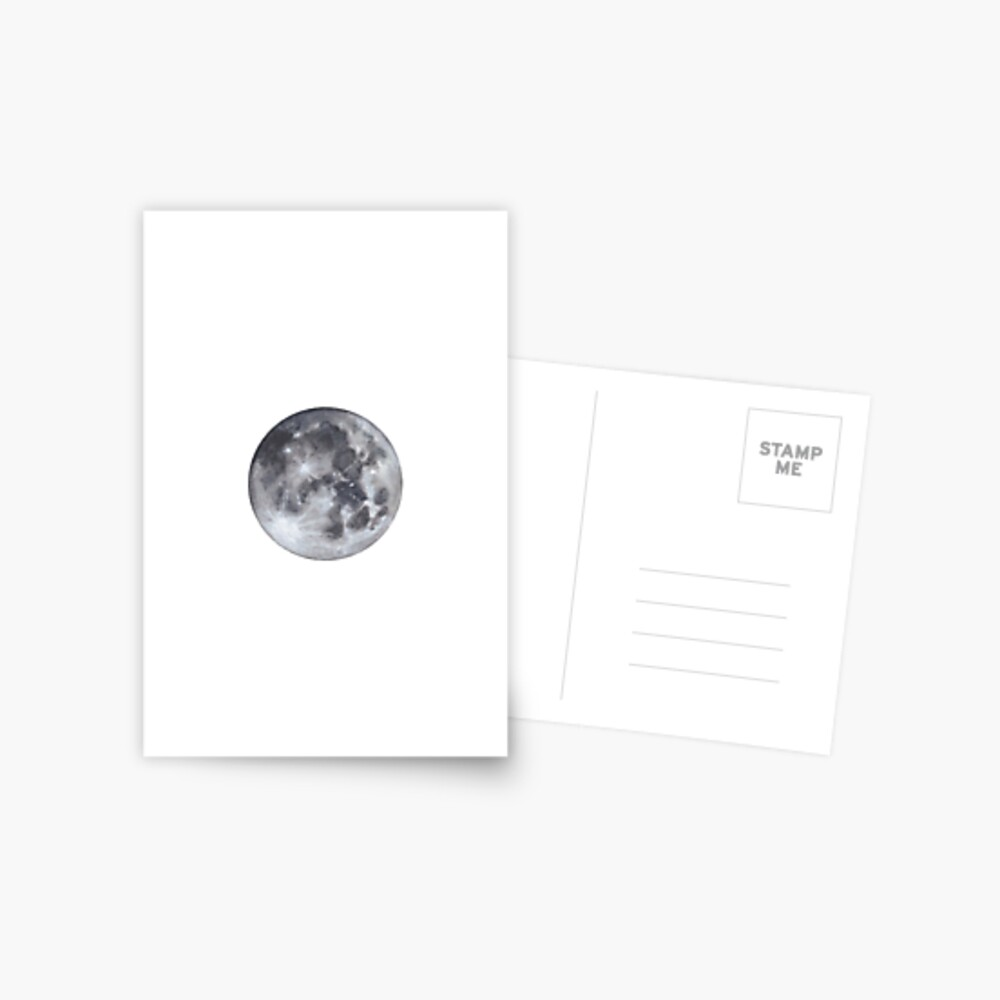 Vollmond Postkarte