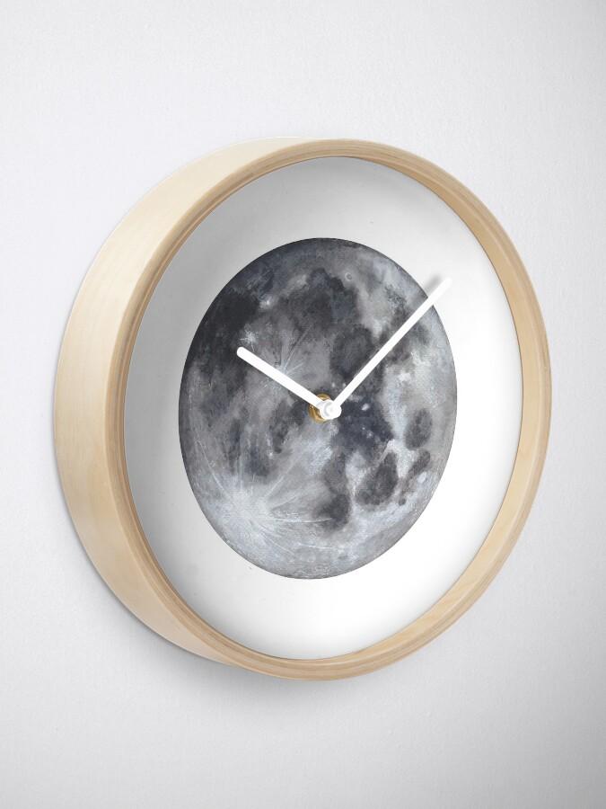 Alternative Ansicht von Vollmond Uhr