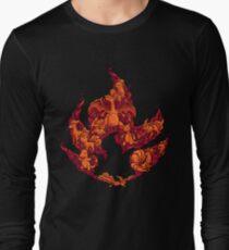 PokeDoodle - Fire Long Sleeve T-Shirt