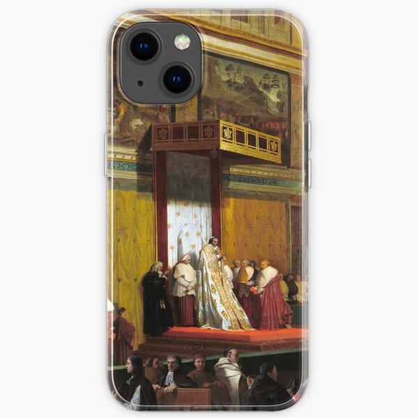 Jean-Auguste-Dominique Ingres Pope Pius VII in the Sistine Chapel iPhone Soft Case