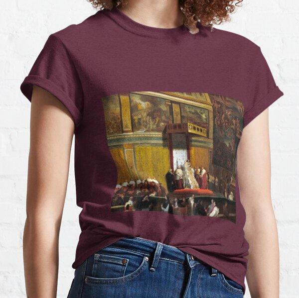 Jean-Auguste-Dominique Ingres Pope Pius VII in the Sistine Chapel Classic T-Shirt