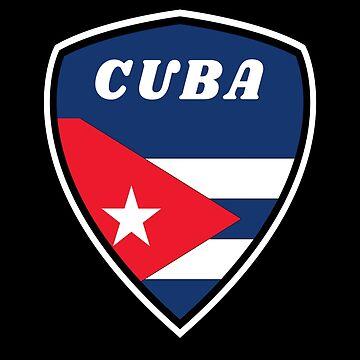 Cuba Coat of Arms / Havana Caribbean Flag Gift National Flag by Rocky2018