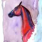 Exotic Red Horse by RavensLanding