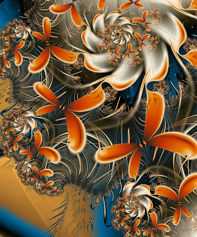 FRACTAL WORKS 6 by Günter Maria  Knauth