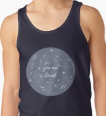 You are loved in purple haze Tank Top