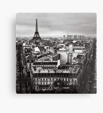 Paris cityscape II Metal Print