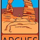 Delicate Arch, Arches National Park, Moab, Utah by strayfoto