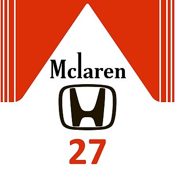 Marlboro McLaren Honda 27 Senna design by GetItGiftIt