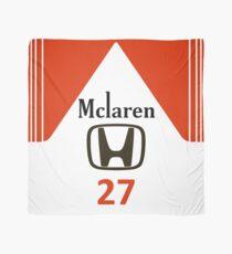 Marlboro McLaren Honda 27 Senna design Scarf