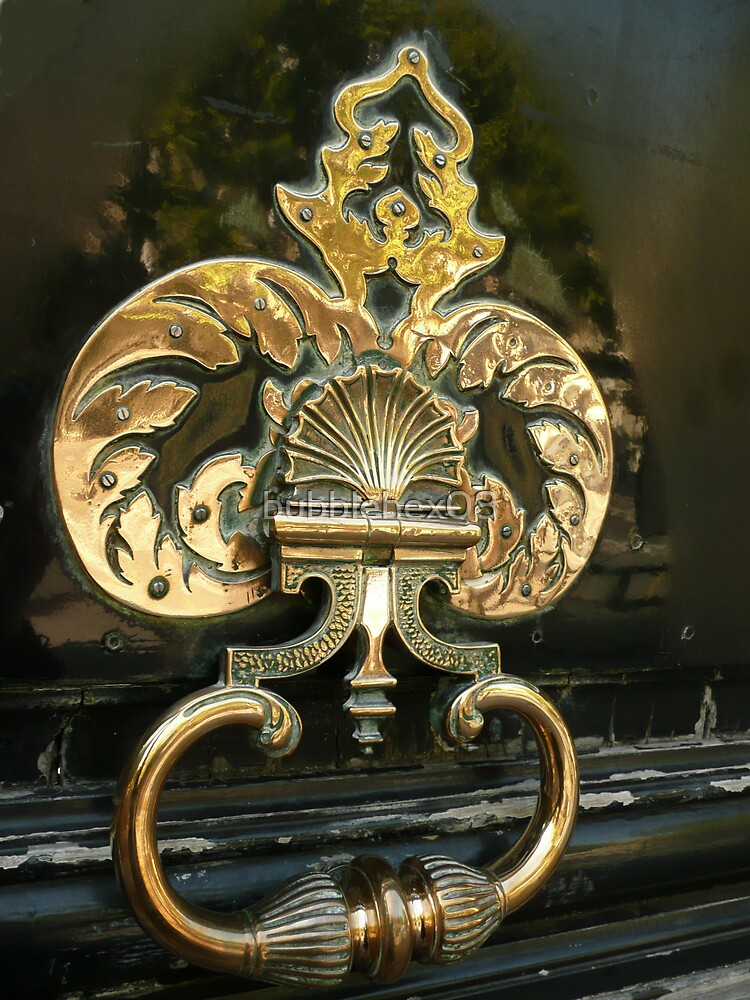 Gorgeous doorknocker by bubblehex08