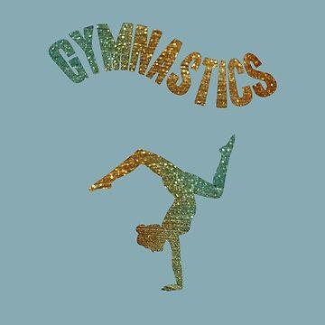 Gymnastics Sparkle by miniverdesigns