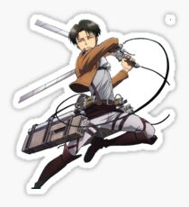 Attack On Titan Levi Sticker