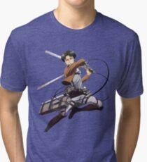 Attack On Titan Levi Tri-blend T-Shirt