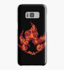 PokeDoodle - Fire Samsung Galaxy Case/Skin
