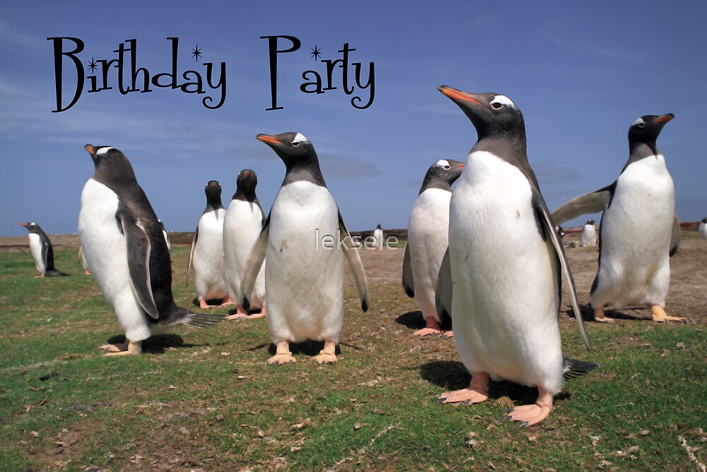 Penguins party by leksele