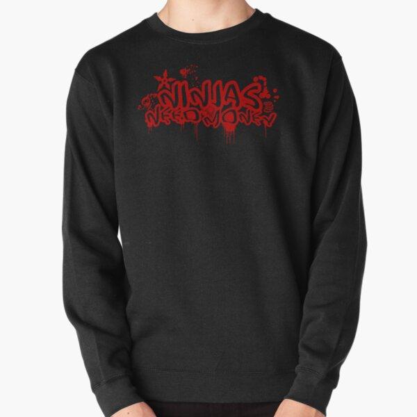 URBAN NINJA RED Pullover Sweatshirt