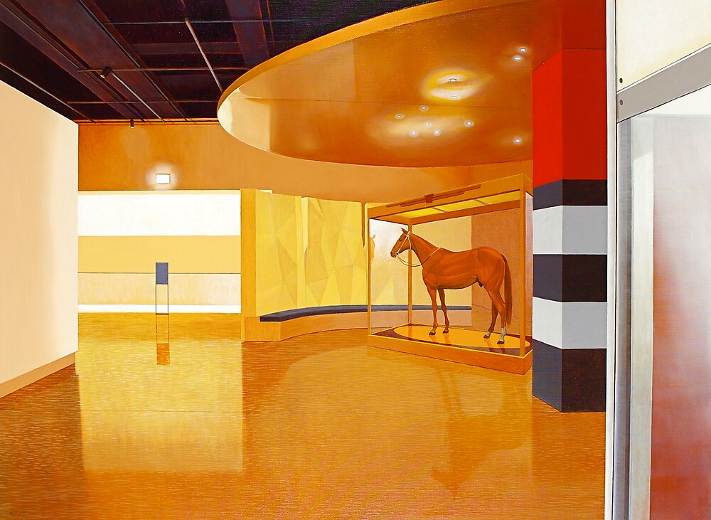 """Museum III (Phar-Lap)"" by Jason Moad"