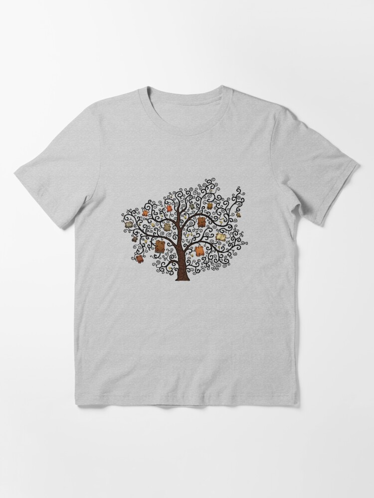 Alternate view of The Tree of Books Essential T-Shirt
