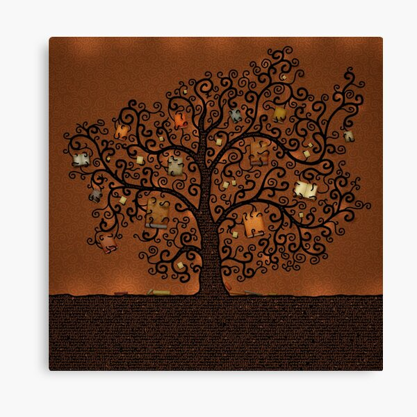 The Tree of Books Canvas Print
