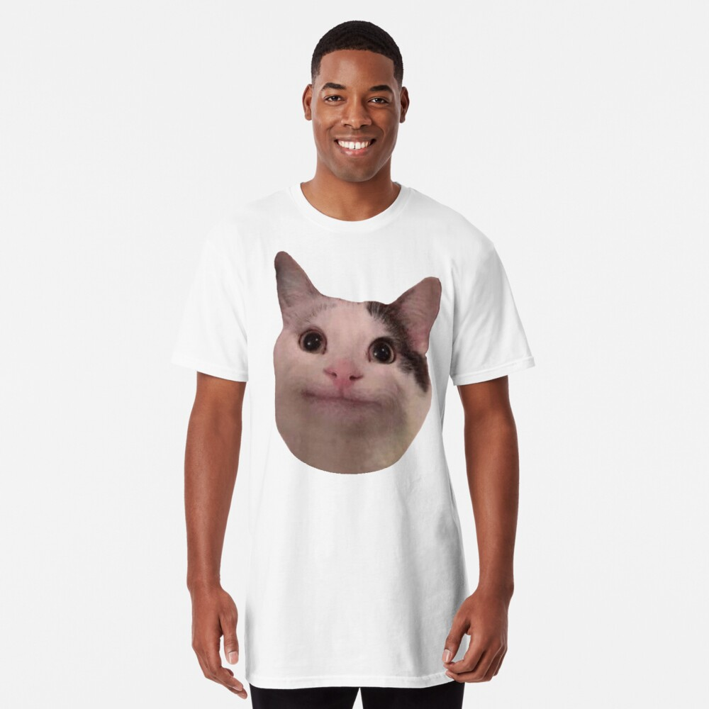 Polite Kitty Long T-Shirt