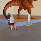 """""""Museum II (T-Rex)"""" by Jason Moad"""