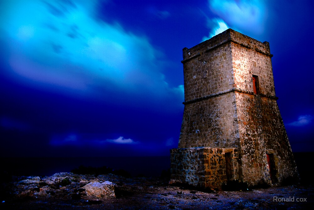 The watch tower by Ronald cox