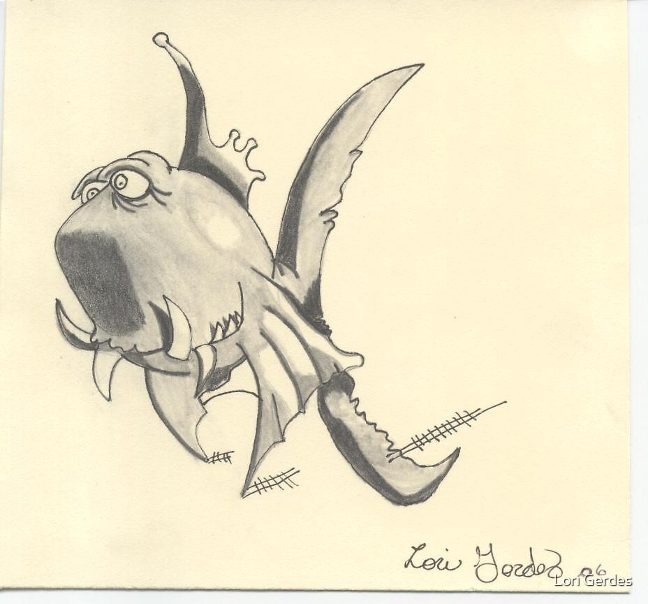 One Bad Fish! by Lori Gerdes