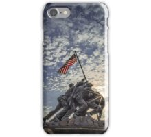 Iwo Jima Memorial Sunrise iPhone Case/Skin