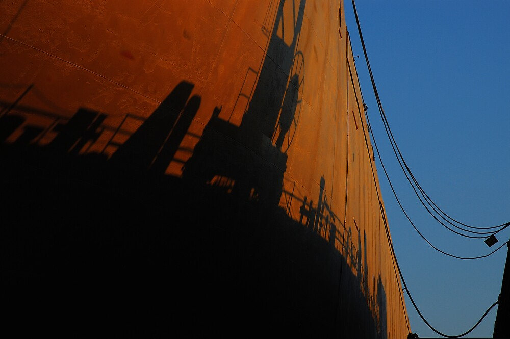 Shipyard in Piraeus by Euphemia
