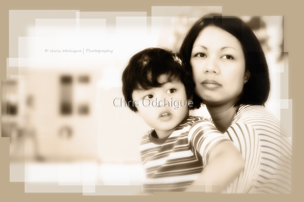 Mother & son by Chris Odchigue