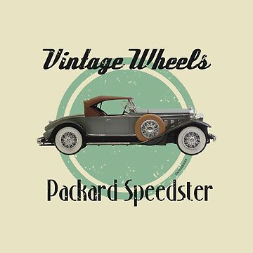 Vintage Wheels - Packard Boattail Speedster by DaJellah