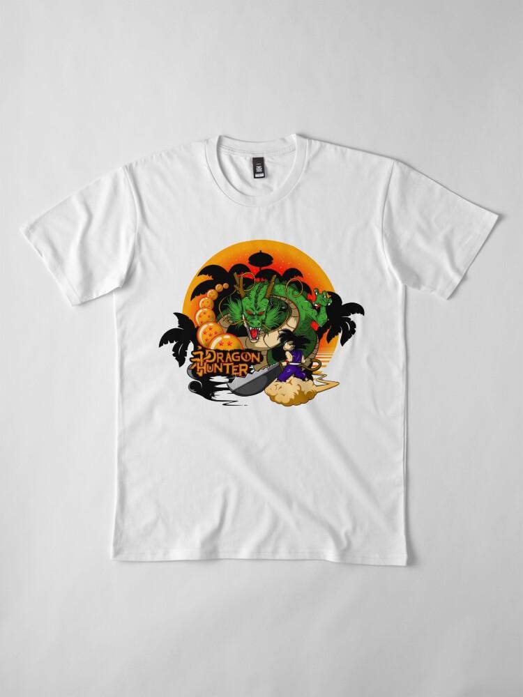 Vista alternativa de Camiseta premium Eternal Dragon Hunter