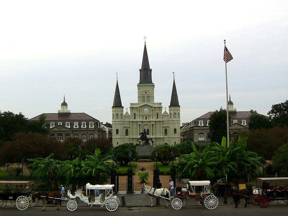 Jackson Square by Erin Brown