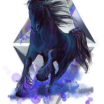 Rainbow unicorn by SFDesignstudio