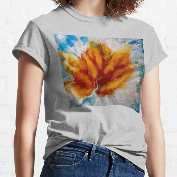 Flower Explosion Abstract Classic T-Shirt