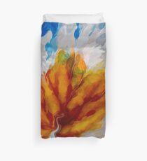 Flower Explosion Abstract Duvet Cover