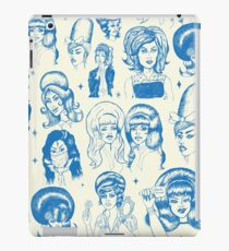 Babes & Bouffants Blue iPad Case/Skin